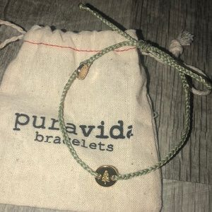 rare green and gold christmas tree pv bracelet